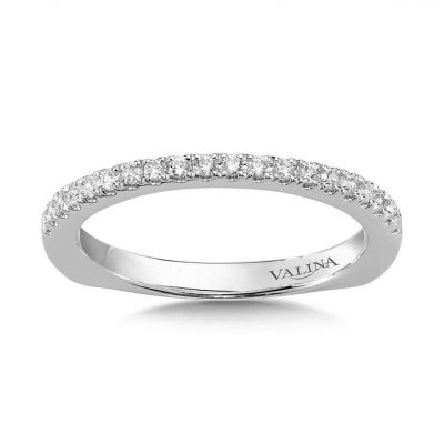 14K White Gold Wedding Bands