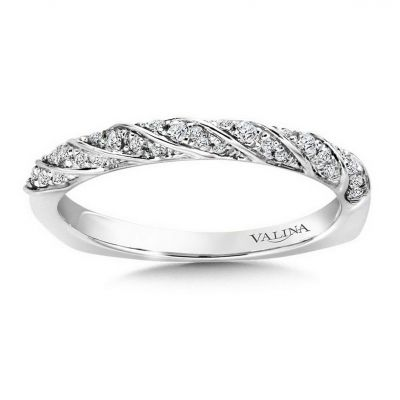 14K White Gold Stackables